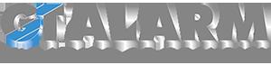 Logo GT Alarm, diseño web e e-commerce